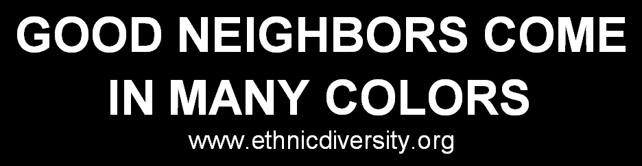 Good Neighbor Bumper Sticker