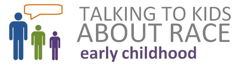 Talking to Kids About Race - Long Logo